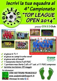 locandina top league 2014